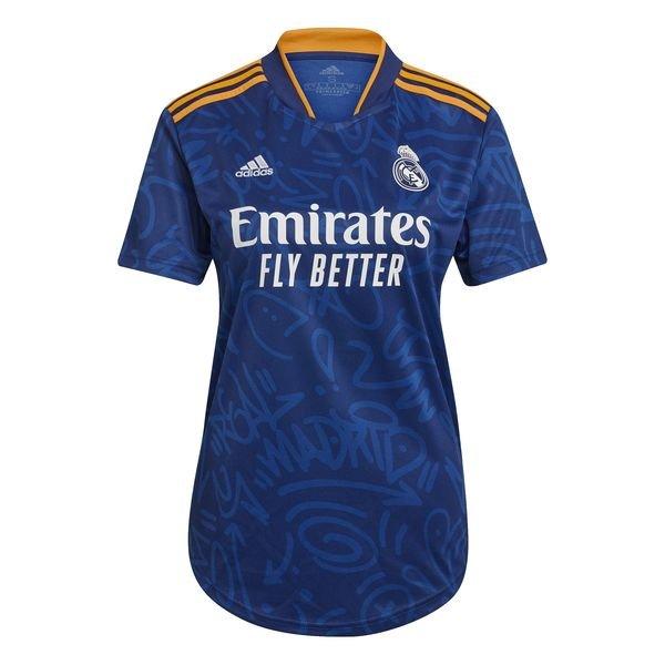 Женская выездная футболка Реал Мадрид сезон 2021-2022