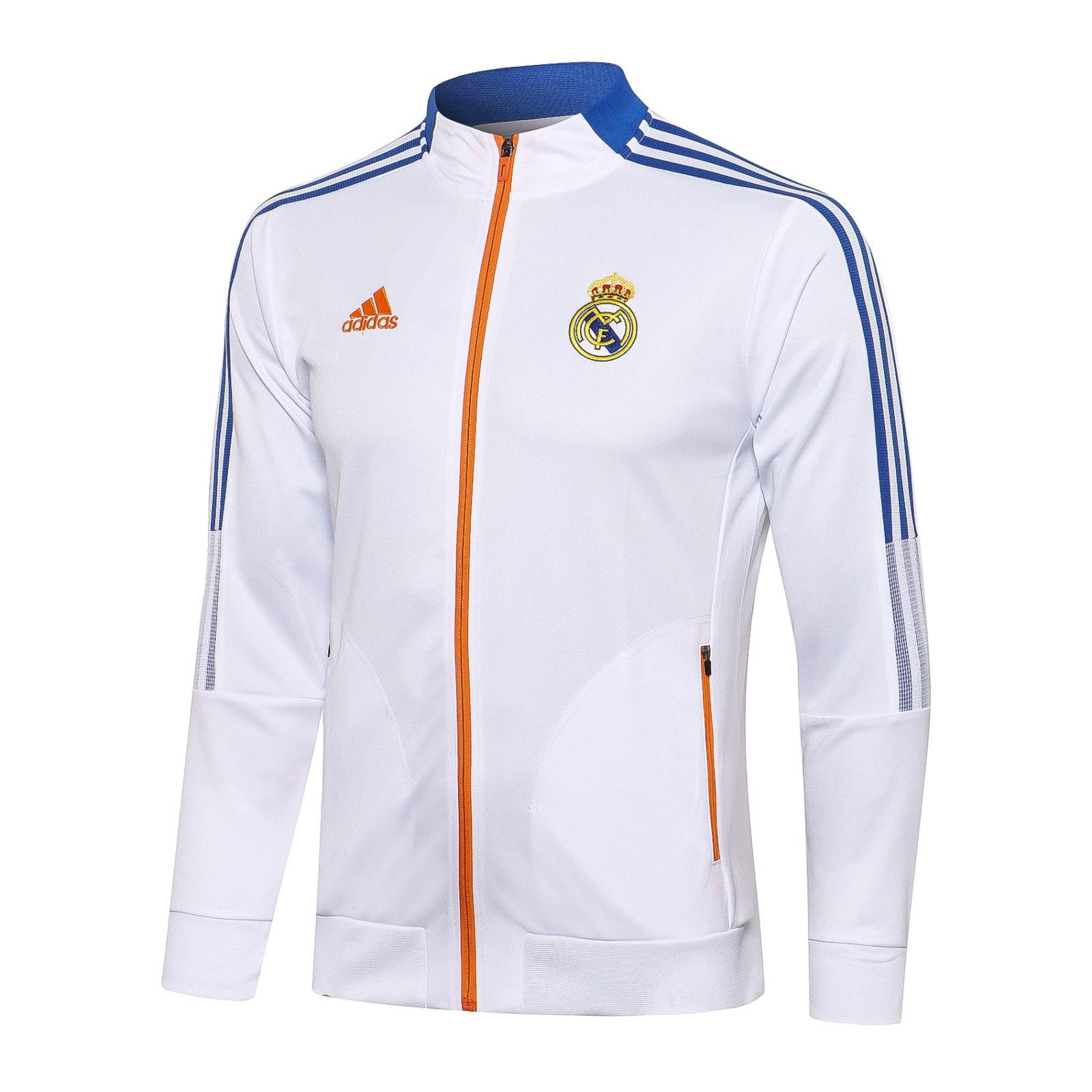 Олимпийка Реал Мадрид сезон 2021-2022 (Белая)