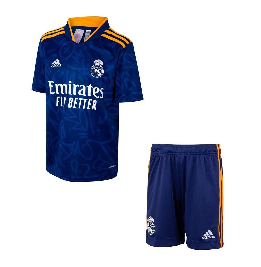 Детская выездная форма Реал Мадрид сезон 2021-2022