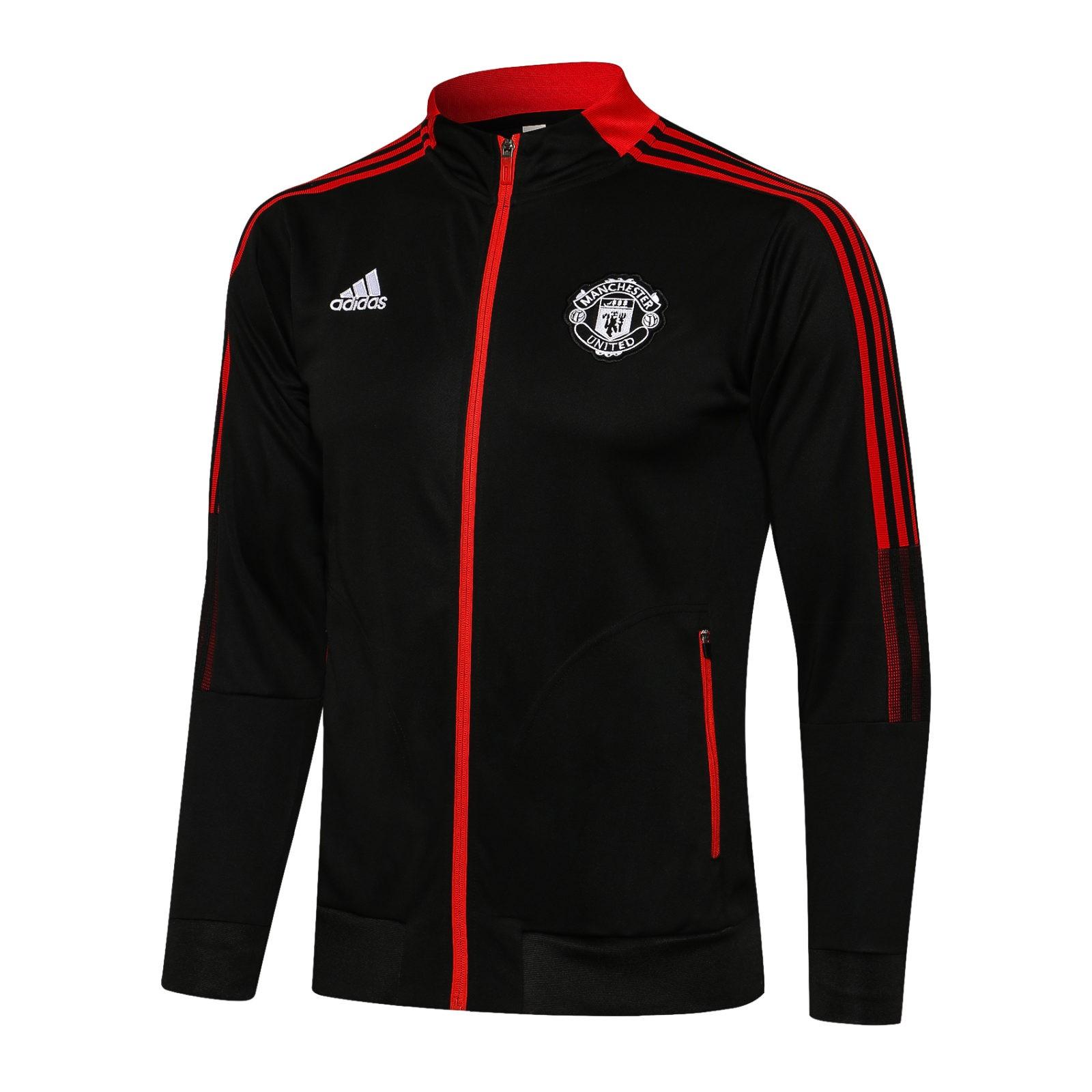 Олимпийка Манчестер Юнайтед сезон 2021-2022 (Чёрная 2)