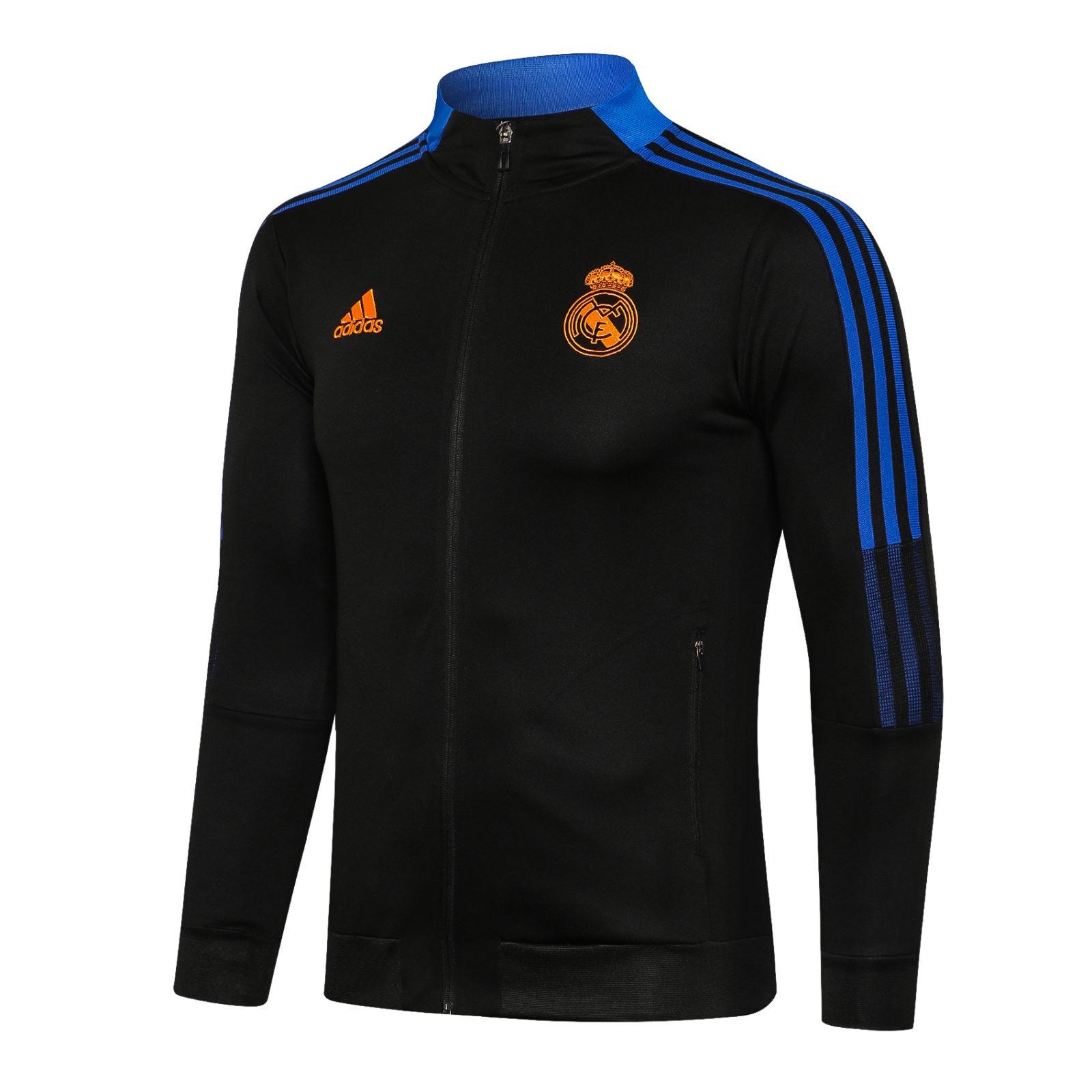Олимпийка Реал Мадрид сезон 2021-2022 (Чёрная)