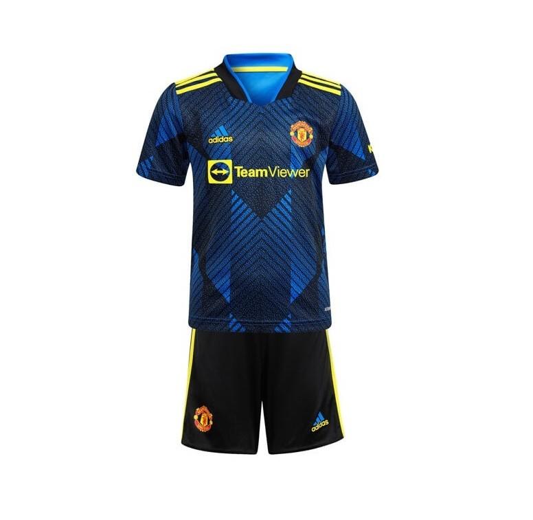 Детская резервная форма Манчестер Юнайтед сезон 2021-2022