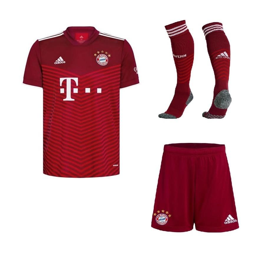 Домашний комплект Баварии Мюнхен сезон 2021-2022