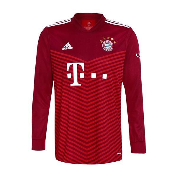 Домашняя футболка Баварии Мюнхен с длинным рукавом сезон 2021-2022