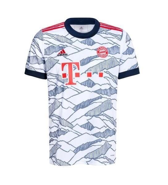 Резервная футболка Баварии Мюнхен сезон 2021-2022