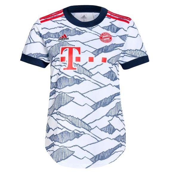 Женская резервная футболка Баварии Мюнхен сезон 2021-2022