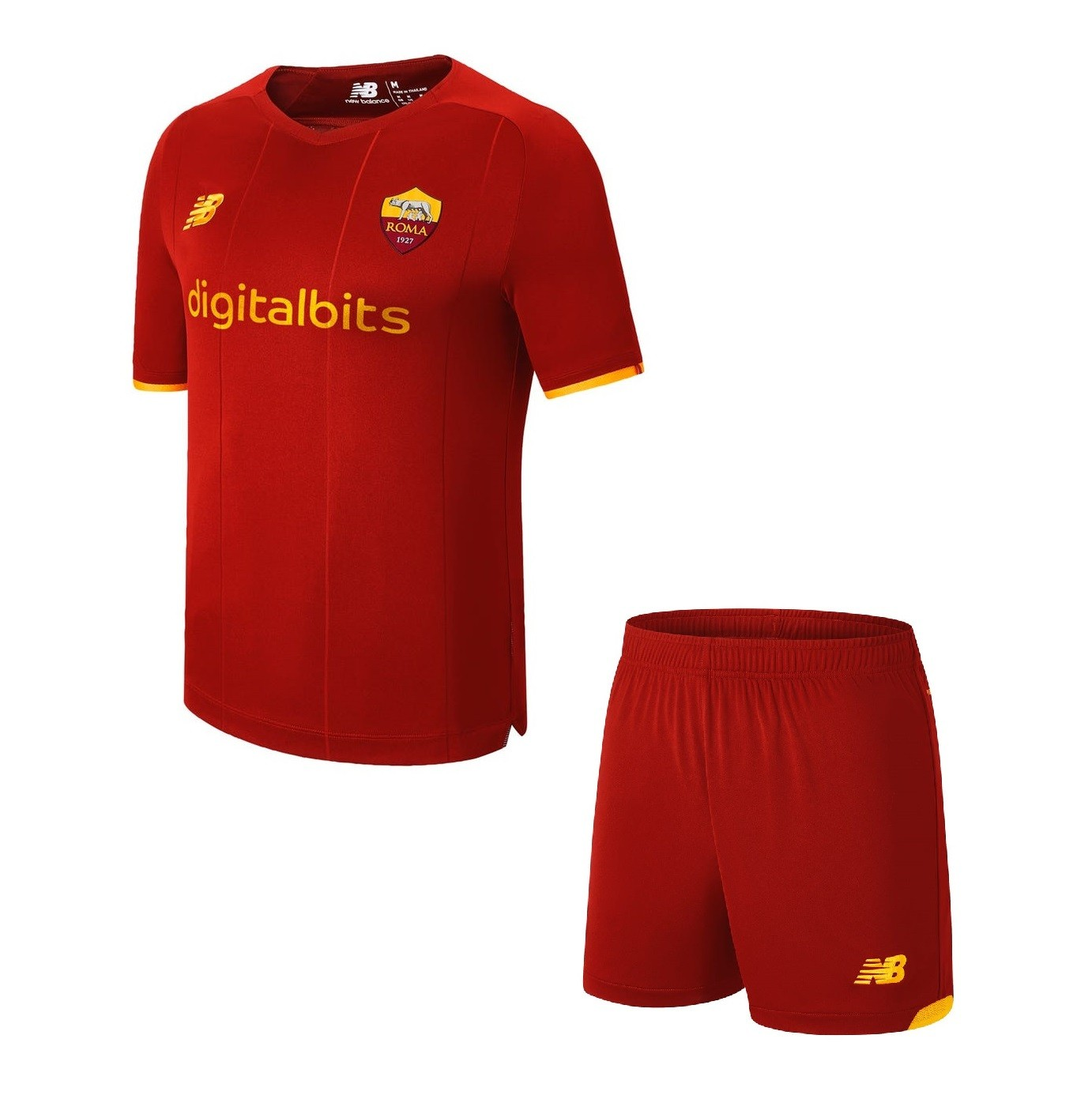 Детская домашняя форма Ромы сезон 2021-2022