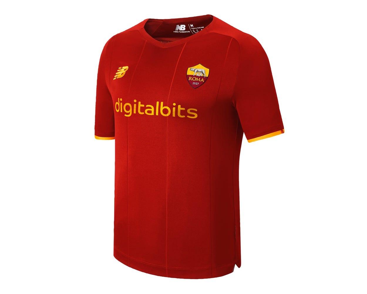 Домашняя футболка Ромы сезон 2021-2022
