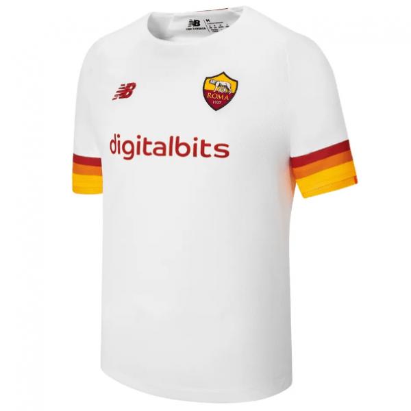 Выездная футболка Ромы сезон 2021-2022