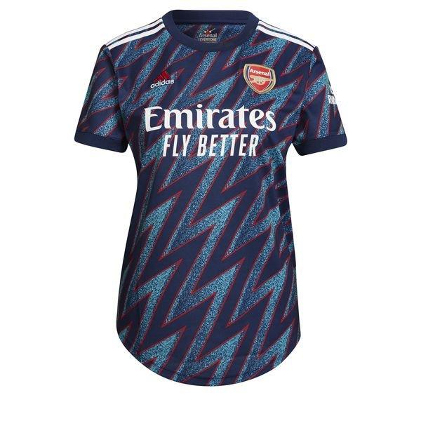 Женская резервная футболка Арсенала сезон 2021-2022