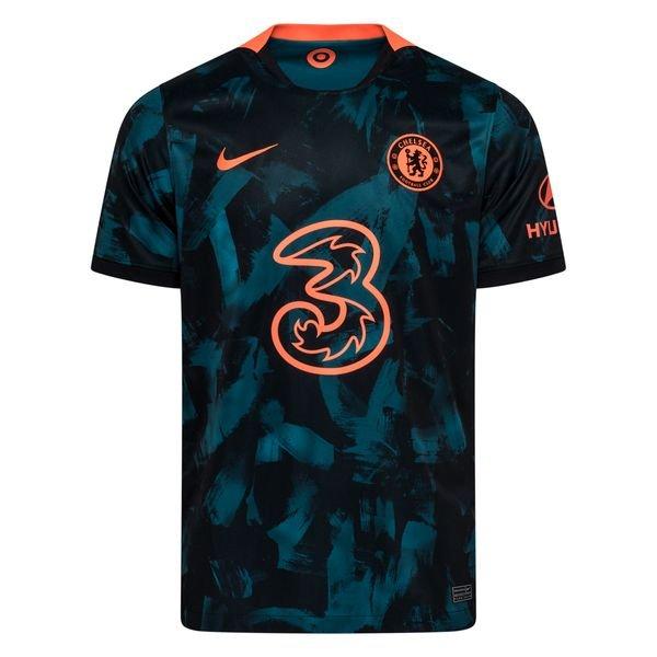 Резервная футболка Челси сезон 2021-2022