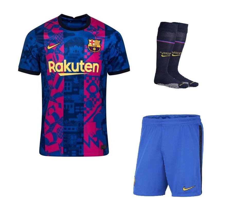 Резервный комплект Барселоны сезон 2021-2022