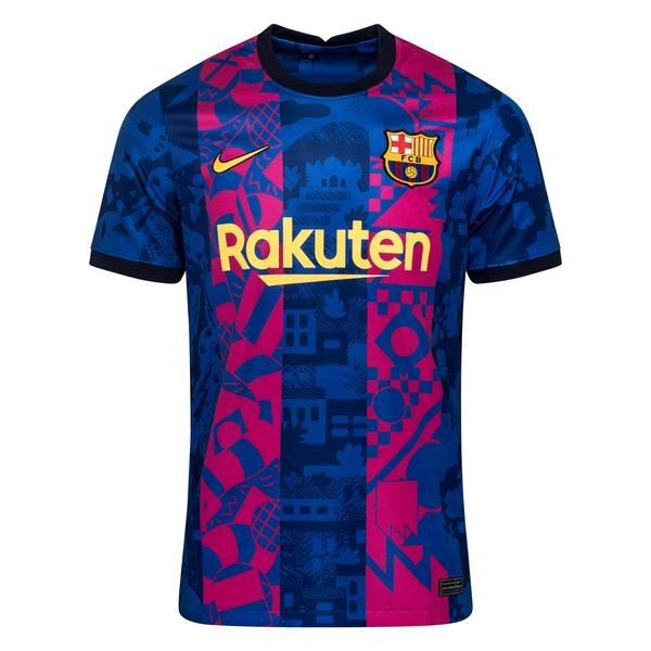 Резервная футболка Барселоны сезон 2021-2022
