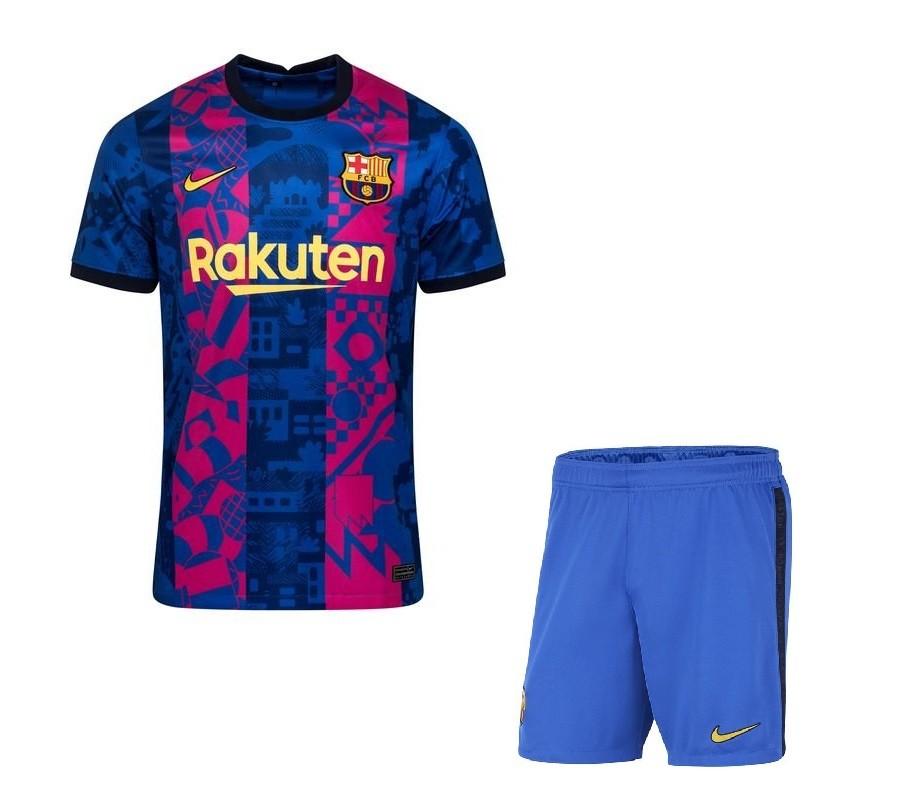 Резервная форма Барселоны сезон 2021-2022