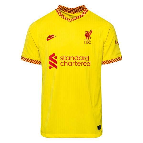 Резервная футболка Ливерпуля сезон 2021-2022