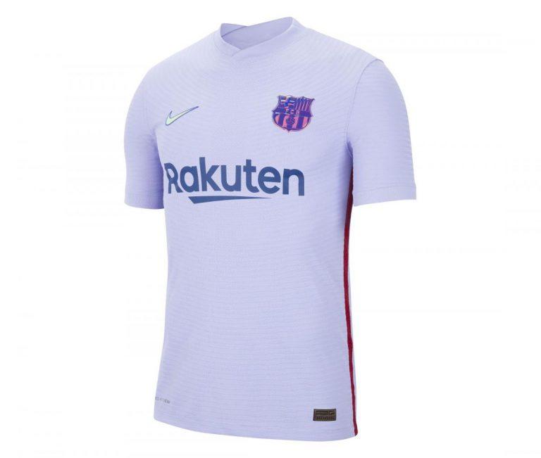 Выездная футболка Барселоны сезон 2021-2022